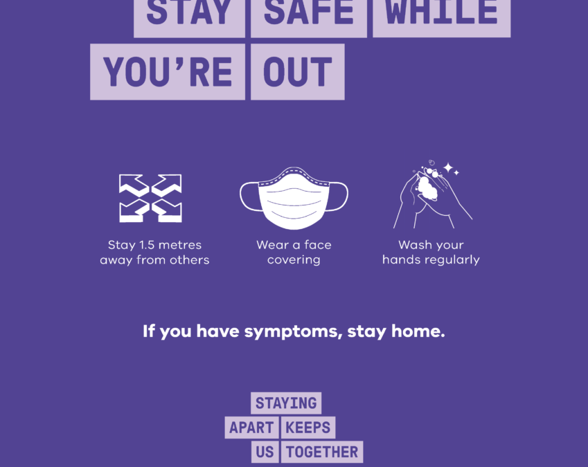 3 ways to stay safe while you are out