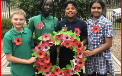 Remembrance Day at Albany Rise